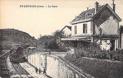 SAINT LOTHAIN - La Gare - TRAIN
