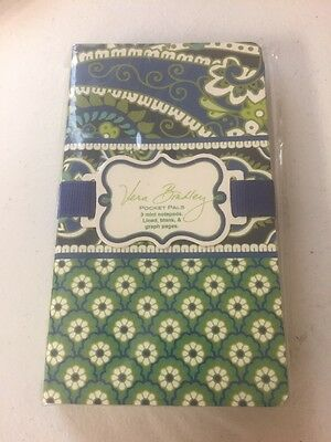 New Vera Bradley Pocket Pal in Rhythm and Blues Planner