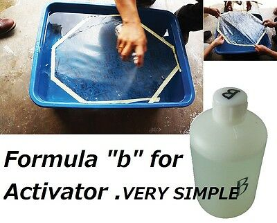 "For water-transfer printing ACTIVATOR""Hydrographics activator Dip ""B"" FORMULA"