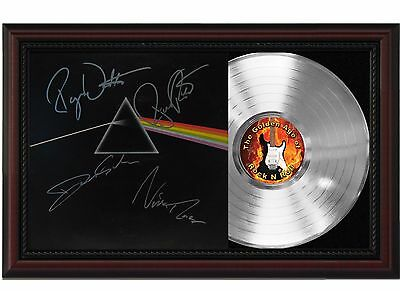 "Pink Floyd - Dark Side of the Moon Platinum Cherrywood Signature Display ""M4"""