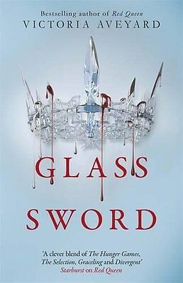 Glass Sword (Red Queen 2) by Victoria Aveyard Paperback Book New