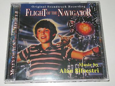 Alan Silvestri/flight Of The Navigator(Super Tracks Music Gr. Stcd 499) Cd Album