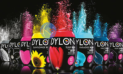 DYLON All-In-1 Fabric Machine Dye Pod 350g - All Colours Available!!