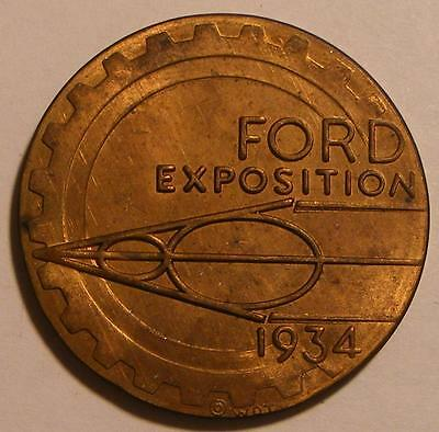 Century of Progress Exposition Ford Motor Company 1934 So-Called Dollar HK-466
