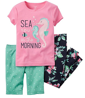 Carters Girls 3pc Pajama Sets VARIETY