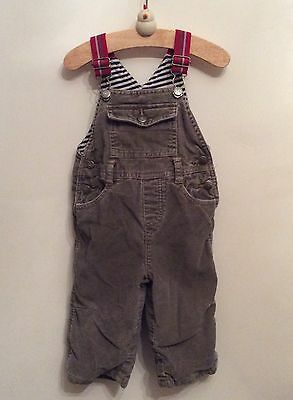 Mini Boden Dungarees 6-12 Months