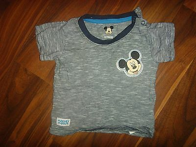 Disney Mickey Mouse Navy Blue Cotton Top Baby Top 9/12 Months