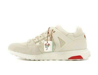 finest selection bbdb1 7a501 ADIDAS EQT SUPPORT Ultra CNY Chinese New Year Box Cream Tan White BA7777  Boost