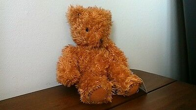 "Jelly Baby Wobbly Head Rattling Bear 10"" New With Tag"