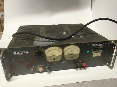 Kepco Voltage Regulated Power Supply Sc-60-2