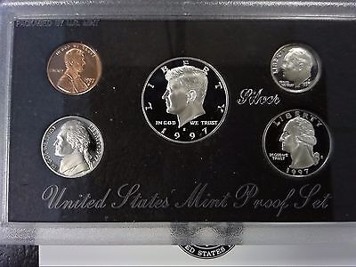 1997-S 90% Silver United States Proof Set (Original Mint Packaging)