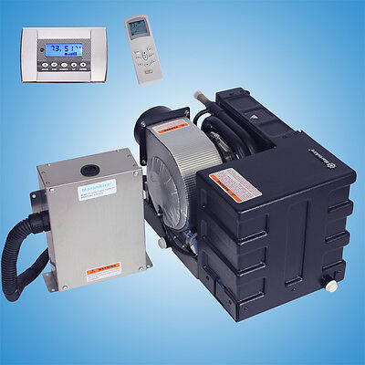 MARINE AIR CONDITIONER & Heating systems for Boats 6000 Btu 115V AC With  Control