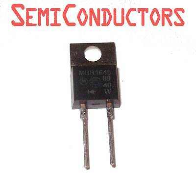 MBR1645 DIODE SCHOTTKY 45V 16A TO220-2 Switchmode Rectifier