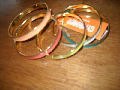 New/nwt Girls Gymboree Sunny Citrus Bangle Bracelets