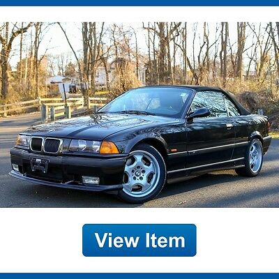 1999 BMW M3 Base Convertible 2-Door 1999 BMW M3 Convertible Super Low 57K mi 5Speed Manual Serviced CARFAX!