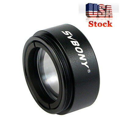 "1.25"" Telescope 0.5 Focal Reducer Threads M28.0x0.6 for 31.75mm Eyepiece US Ship"