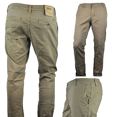 NWT ESPRIT Modern Men's Casual Chino Pants Slim Stretch Fit