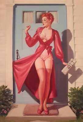 Vintage Pin Up Frahm Saucy A4 Poster Picture Print Art