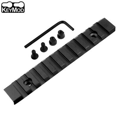 "KeyMod Picatinny Weaver Rail Handguard Section Aluminum 5 inch 5"" 13 Slots"