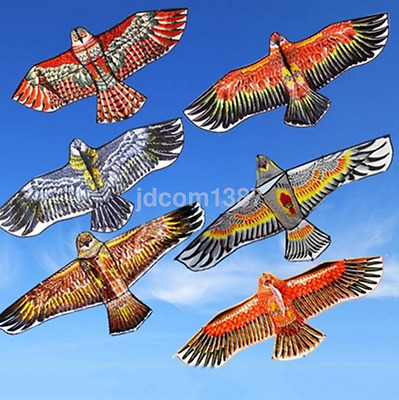 1.1M Flying Eagle Kite Novelty Animal Kites Outdoor Sport Kid's Toy Brand New UK
