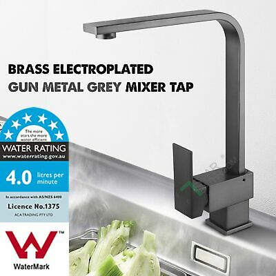 Commercial Swivel Spout Pre-Rinse Laundry Kitchen Pull Out Down Mixer Tap WELS