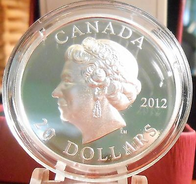 2012 $20 dollars Fine silver coin Queen's Diamond Jubilee HIGH RELIEF