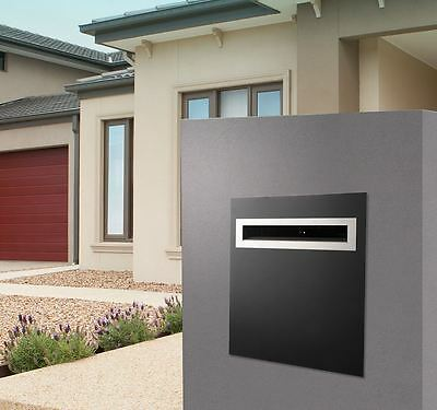 Sandleford Frontier A4 Brick Insert Letterbox with Front Back and Sleeve
