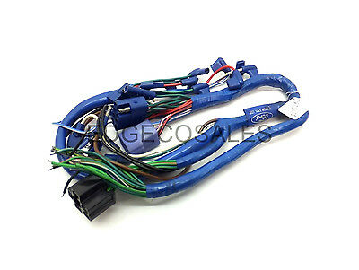 "New Holland ""3/4 Cyl"" Tractor Switch to Fender Wiring Harness / Loom - 81822135"