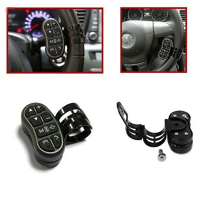 ABS Wireless Steering Wheel Button Remote Control For Autos Stereo DVD GPS Nav