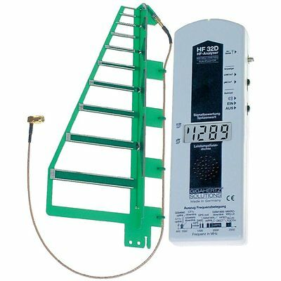 GIGAHERTZ SOLUTIONS HF 32D High frequency HF-Analyser, Electric smog meter, 800