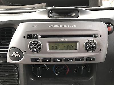 Ford Ka  Aux Radio Stereo Cd Player Tested With Code Ref R