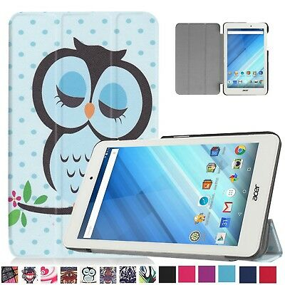 UK Stock Magnetic Leather Case Cover For Acer Iconia One B1-850 8'' Inch Tablet