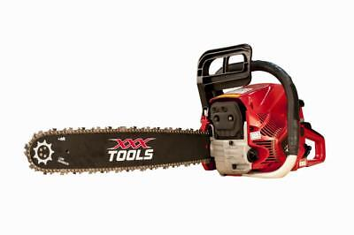 XXX TOOLS 62cc PETROL CHAINSAW WALBRO CARB / NGKr-ANY BAR + CHAIN COMBO YOU LIKE