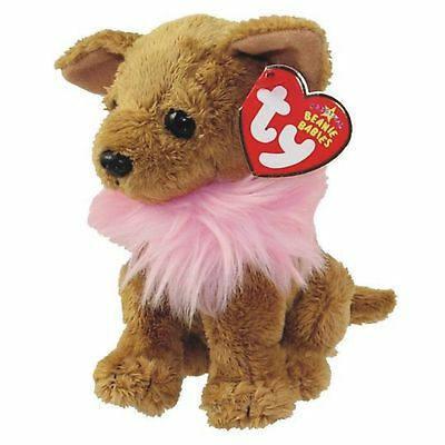 Ty Beanie Baby Divalectable Chihuahua Puppy Dog Retired DOB July 7 2006 soft toy