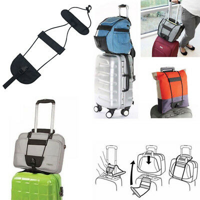 Travel Luggage Bag Bungee Suitcase Belt Backpack Carrier Strap Easy to Carry