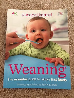 Weaning by Annabel Karmel Book (baby Recipes)