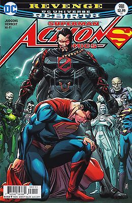 ACTION COMICS (2016) #981 - Cover A - DC Universe Rebirth - New Bagged