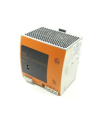 IFM DN2013 -NEW- Power Supply; 115/230VAC/24VDC-10A
