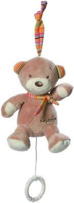 Fehn Mini-Spieluhr Rainbow Teddy