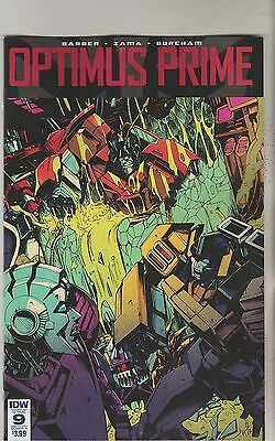 Idw Comics Optimus Prime #9 July 2017 Variant A 1St Print Nm