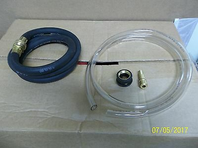 Wall mount Hose and Adapter Set Daley APM Chemical Dilution delivery station new