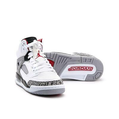 sale retailer 3daf5 aa489 Boy s Jordan Spizike (GS) Shoe 317321-122 WHITE VARSITY RED-CEMENT
