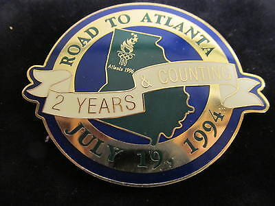 """1994 """"2 Years and Counting"""" for the 1996 Atlanta Olympics"""