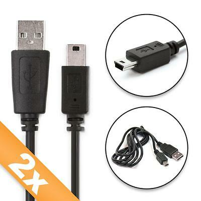 2x Cable de datos para GoPro HD / Hero HD / Hero 2 / Hero 3 / Hero 3plus / Hero