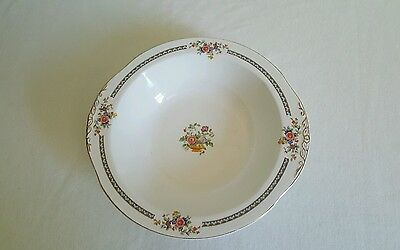 Vintage Grindley W H Marjorie Pattern 10 inch Oval Serving Bowl With Handles