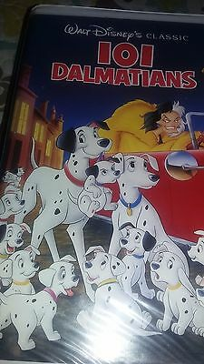Disney's Classic Black Diamond 101 Dalmatians 1263 (VHS, 1992) dated 03/12/1992