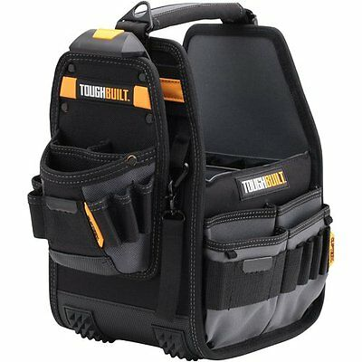 BRAND NEW ToughBuilt 8 Inch Tote With Belt / Strap and Pouch-Technician Tool Bag