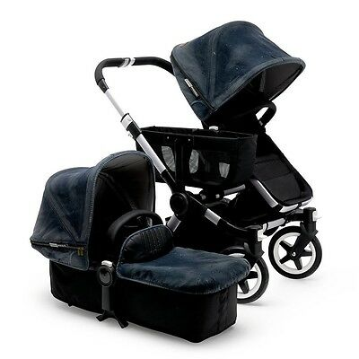 2 x  bugaboo donkey tailored fabrics diesel special edition denim
