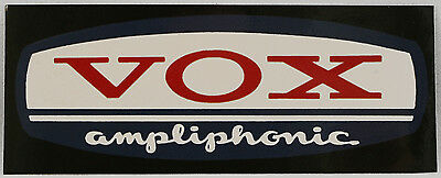 Vox Amp Sticker, Vox amplifiers decal, ampliphonic, musicians, guitar amp