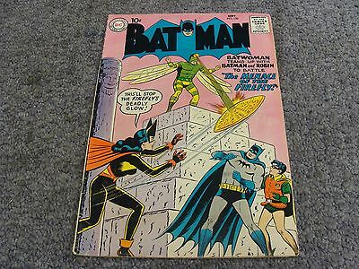 """Batman #126 (1959) """"The Menace of the Firefly!"""" * 5.0 * VG/FN *"""